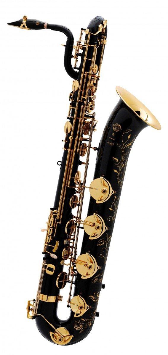 Saksofon barytonowy Henri Selmer Paris Serie III NG GO black lacquer