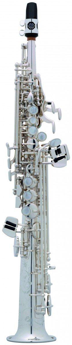 Saksofon sopraninowy Henri Selmer Paris Super Action 80/Serie II AG silver plated