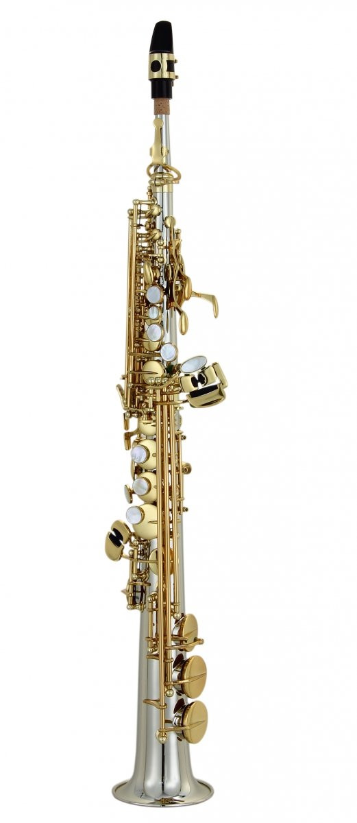 Saksofon sopranowy LC Saxophone S-604CL clear lacquer