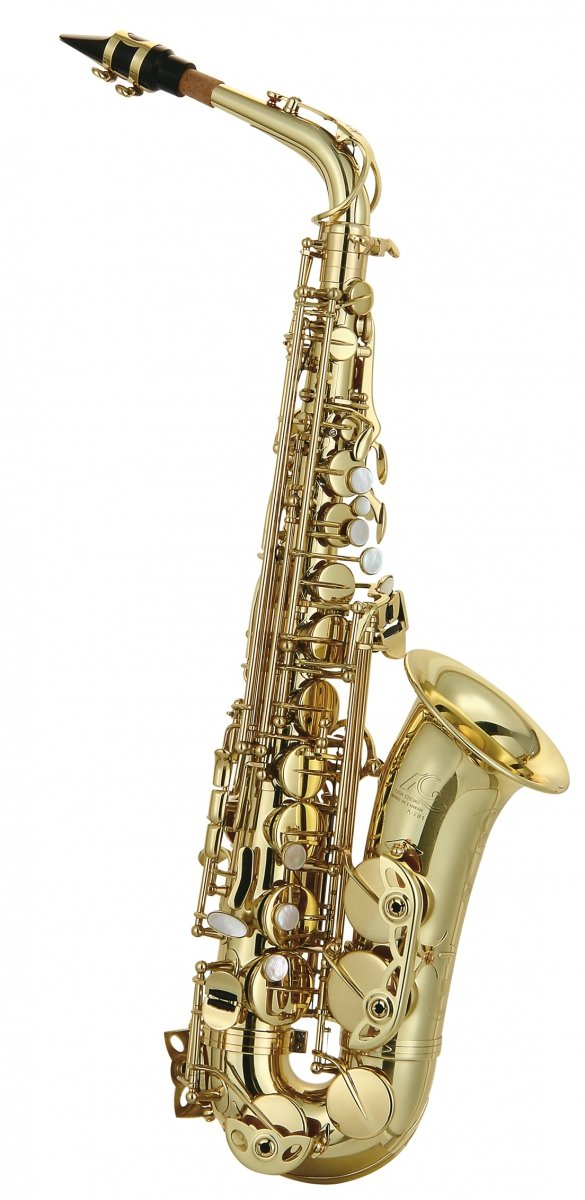 Saksofon altowy LC Saxophone A-701CL clear lacquer