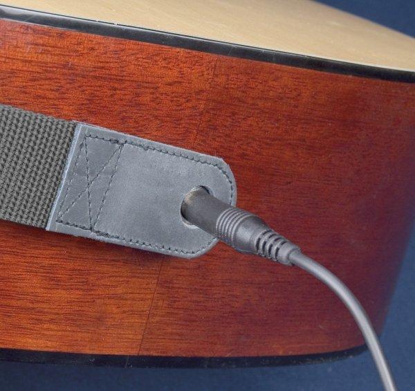 Pasek do gitary akustycznej Neotech Slimline Acoustic End Pin Jack