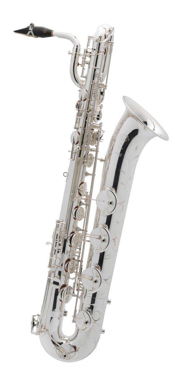 Saksofon barytonowy Henri Selmer Paris Serie III AG silver plated