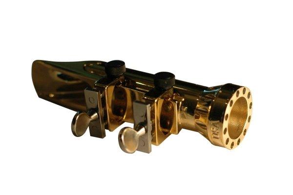 Ustnik do saksofonu tenorowego Bari Cyclone metal