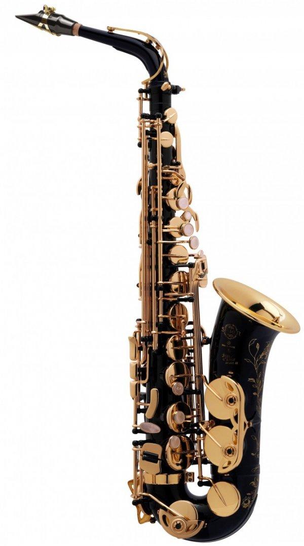 Saksofon altowy Henri Selmer Paris Super Action 80/Serie II NG GO black lacquer