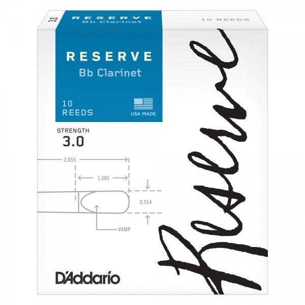 Stroiki do klarnetu B/A Rico Reserve