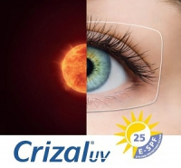 Soczewki okularowe Orma 1.5  z antyrefleksem Crizal Forte UV