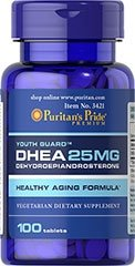 DHEA 25 mg - 100 TABLETEK