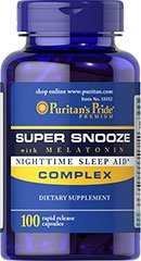 Super Snooze with Melatonin 100 Capsules