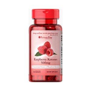 RASPBERRY KETONES 500 mg - 60 KAPSUŁEK - NATURALNY SPOSÓB NA UTRATĘ WAGI