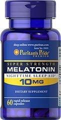 MELATONINA 10 mg - 60 kapsułek sen bezsenność