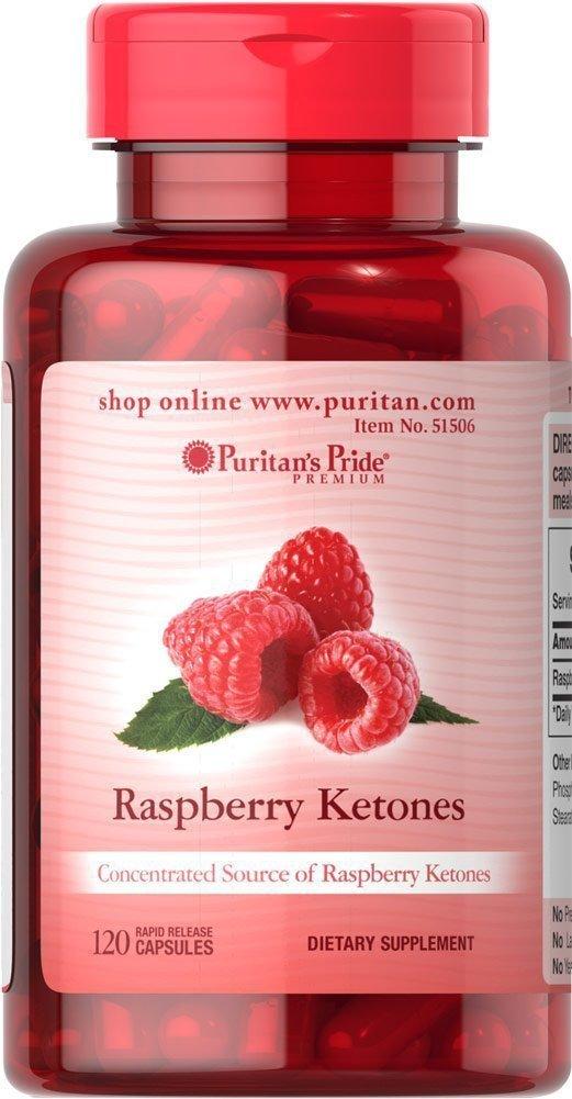 RASPBERRY KETONES 100 mg - 120 KAPSUŁEK- NATURALNY SPOSÓB NA UTRATĘ WAGI