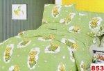 Poszewki na poduszki 40x40 bawełna satynowa wz. 0853