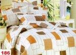 Poszewki na poduszki  40x40 bawełna satynowa wz. 0186