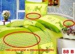 Poszewki na poduszki 40x40 bawełna satynowa wz. 0088