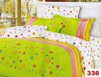 Poszewki na poduszki 40x40 bawełna satynowa wz.336