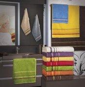 Ręcznik PROMOCJA, grube ręczniki 50x90 - kolekcja Mars wz. brązowy