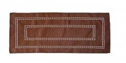 Obrus Haftowany Bruna 59-1 150x260 cm kolor: Brazowy