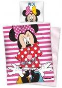Pościel licencyjna Disney 100% bawełna 160x200 lub 140x200 - Myszka Minnie - wz. STC 21 DC