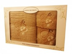 Komplet ręczników 3 częściowy wz.18
