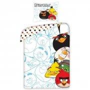 Pościel licencyjna 100% bawełna 140x200 - Angry Birds 5002