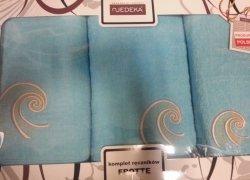 Komplet ręczników 3 częściowy Jedeka wz 19