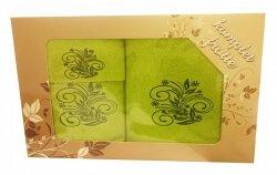 Komplet ręczników 3 częściowy wz.08