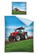 Pościel młodzieżowa 100% bawełna 160x200 lub 140x200 - Traktor wz. 2488A