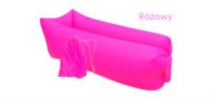 Lazy Bag AIR SOFA - materac - LEŻAK na plażę wz. różowy