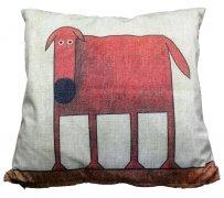 Foto Poszewka na poduszkę z mikrofibry 033 42x42 wz. DOG