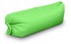 Lazy Bag AIR SOFA - materac - LEŻAK na plażę wz. zielony