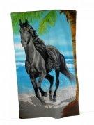 Ręcznik plażowy Konie 4 - rozmiar 70x148 wz. PL55