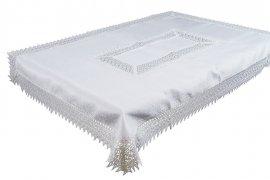 Obrus gipiurowy rozmiar 110x160 wzór biały (144)