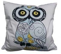 Foto Poszewka na poduszkę z mikrofibry 033 42x42 wz. BIG OWL