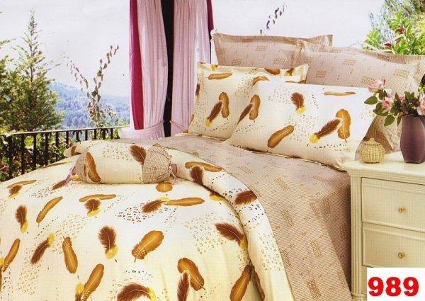 Poszewki na poduszki 40x40 bawełna satynowa wz. 0989