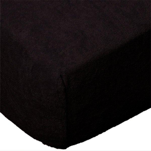 Grube Prześcieradło FROTTE 140x200 na gumkę wz. 027 czarny