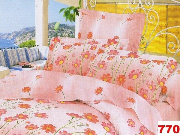 Poszewka na poduszkę 70x80, 50x60 lub inny rozmiar - 100% bawełna satynowa, zapięcie na guzik wz. 0770