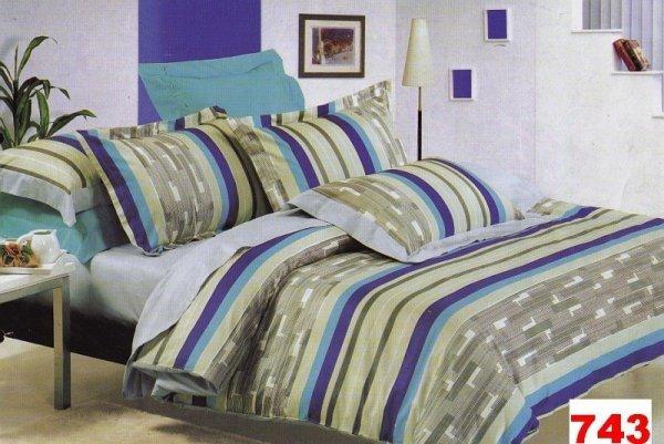 Poszewki na poduszki 40x40 bawełna satynowa wz. 0743
