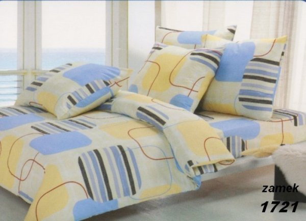 Poszewki na poduszki 40x40 bawełna satynowa wz. 1721