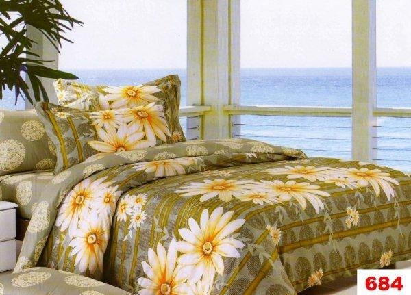 Poszewki na poduszki 40x40 bawełna satynowa wz. 0684