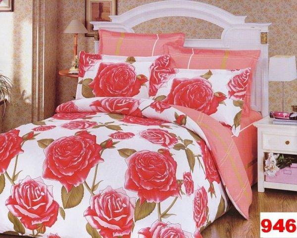 Poszewki na poduszki 40x40 bawełna satynowa wz. 0946