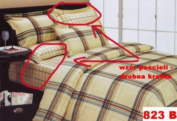 Poszewki na poduszki 40x40 bawełna satynowa wz. 0823B