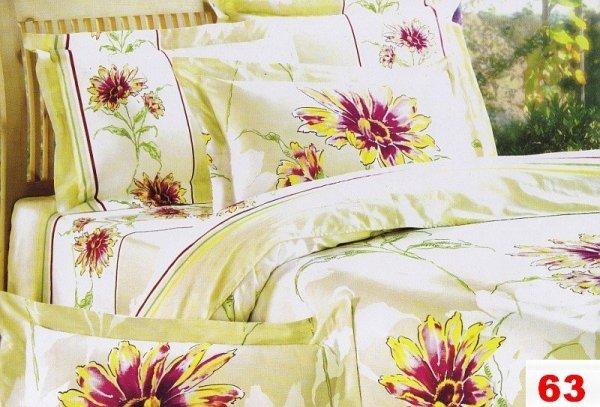 Poszewki na poduszki 40x40 bawełna satynowa wz. 0063