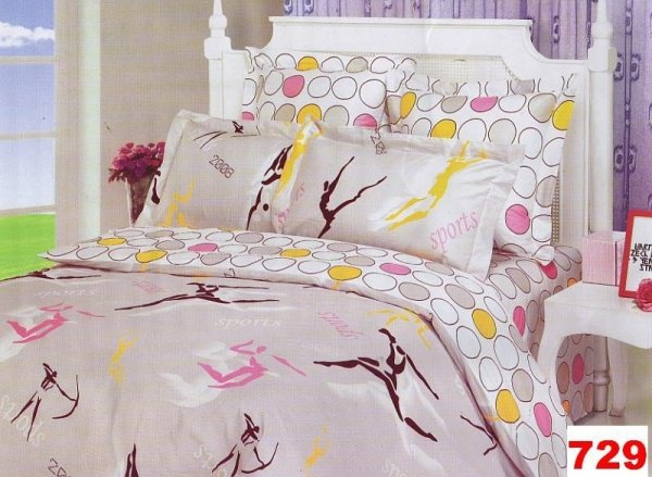 Poszewki na poduszki 40x40 bawełna satynowa wz. 0729