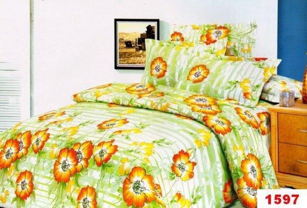 Poszewki na poduszki 40x40 bawełna satynowa wz. 1597