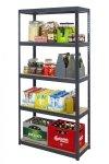 Metallregal Werkstatt Schwerlastregal Helios 213x075x45_5 Böden, Tragkraft bis 400 Kg pro Boden,  Viele Farben zur Auswahl