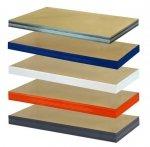Zusatzboden 120 x 040_P zu Metallregal Helios VERZINKT und pulverbeschichtet alle FARBEN