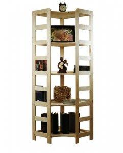 Holzregal Bücherregal R-12 166x56x56 cm