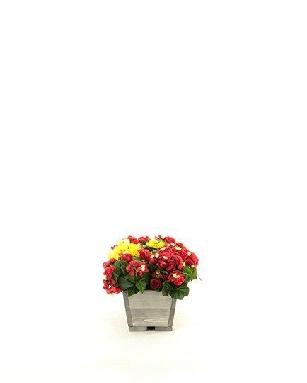 Blumenkübel aus Holz Serie RD-2-54, 16x54x21