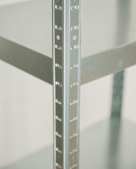 Metallregal ganz aus Metall  Elara   EZ_180x080x40_ 5_120 120 kg verzinkt