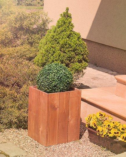 Blumenkübel RD-1-40,40x27x31 cm